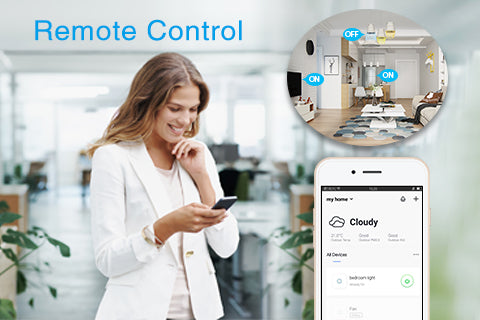 Remote Control by Smart Life App