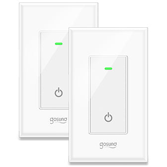 Imagine controlling your lighting system using your smartphone with this smart light switch.