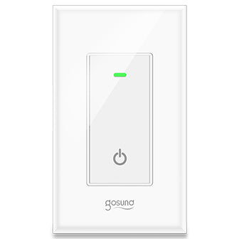 This Smart Light Switch gives you the power to automatically or remotely access and control lights and appliances.