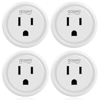 Convert your home into a smart home with these mini smart plugs.