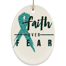 Load image into Gallery viewer, Faith Over Fear Ornaments