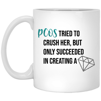 PCOS Diamond Mug