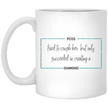 Load image into Gallery viewer, PCOS Diamond Block Mug