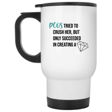 Load image into Gallery viewer, PCOS Diamond Travel Mugs