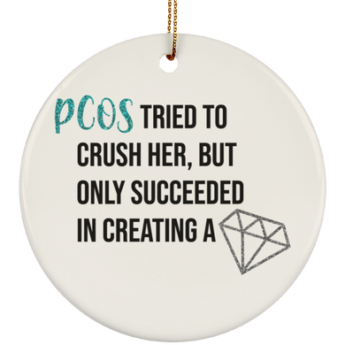 PCOS Diamond Ornaments
