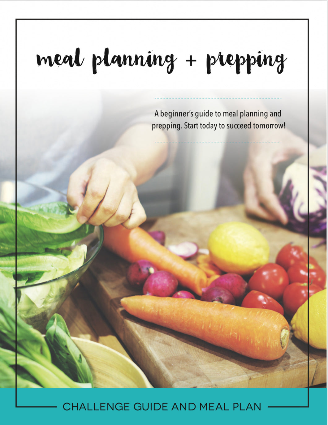 6 Day Meal Planning and Prepping Workshop with Certified Life Coach (APRIL 22)