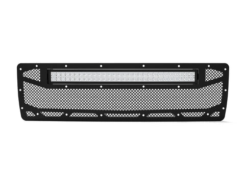 "1991-1993, Dodge Ram 1500 Grille Insert 1, with 20"" LED Light Bar"
