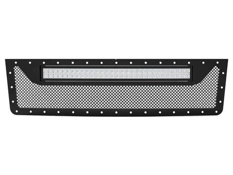 "1992-1998 Ford F-250 / F-350 OBS, Full Replacement Grille 2 with 20"" Light Bar"
