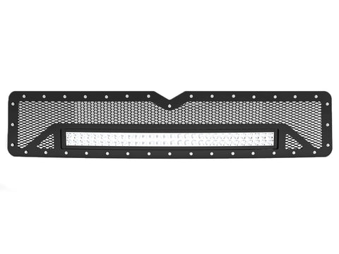 "1994-2002 Dodge Ram 2500 Grille Insert, with 30"" Light Bar (Non Sport)"