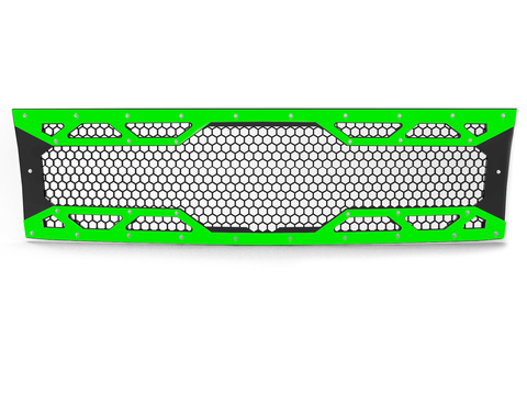 2011-2014 Chevy Silverado 2500/3500, Grille 4 Lime Green