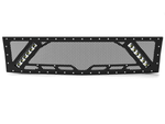 "2008-2013 Chevy Silverado 1500, Grille 5 with 2X 10"" LED Lights"