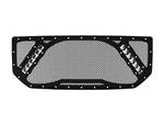 "2015-2019 Sierra 2500-3500 Grille 2, 2x 10"" LED Lights"