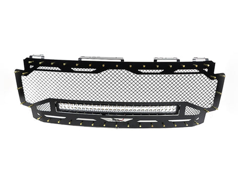 "2017-2018 Ford Super Duty Full Replacement Grille, SF1 Border, 30"" LED"