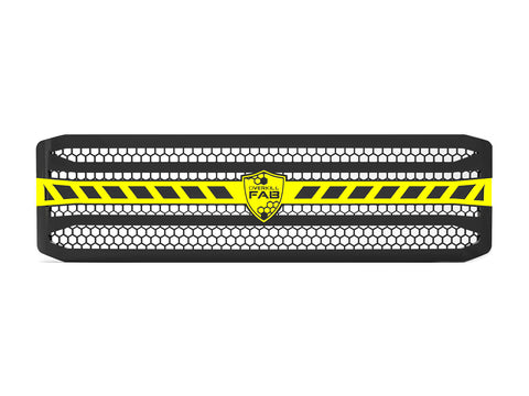 2005-2007 Ford F-250 / F-350 Super Duty, Grille 3 Yellow