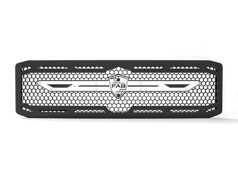1999-2004 Ford F-250 / F-350 Super Duty, Grille 5 White