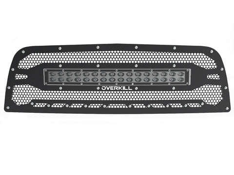 "2013-2018 Ram 2500/3500/4500 (4th Gen) Grille, with 30"" Light Bar"