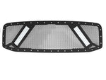 2003-2005 Dodge Ram 1500 Grille Insert, 2x 10in LED, (3rd Gen) Grille 6