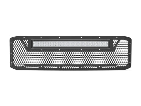 "2005-2007 Ford F-250 / F-350 Super Duty, with 20"" Light Bar, Grille 6"