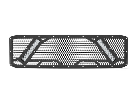 "2005-2007 Ford F-250 / F-350 Super Duty, with 2X 10"" Lights, Grille 7"