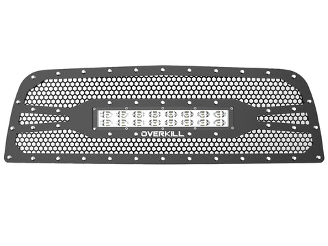 "2010-2012 Ram 1500 (4th Gen) Grille, with 20"" Light Bar"