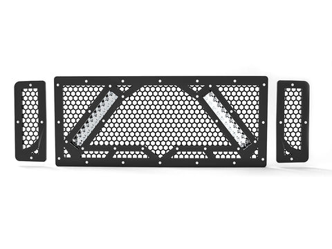 "2008-2010 Ford F-250 / F-350 Super Duty, with 2X 10"" Lights, Grille 5"