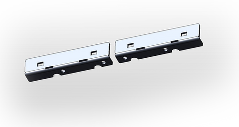 Dodge 4th Gen Bumper Lower Supports
