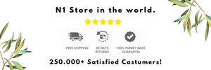 We are the number one store in the world for mosquito products, we have more than 250.000 satisfied costumers.