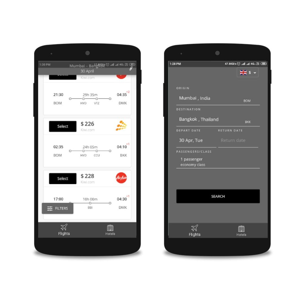 Android Travel App Business