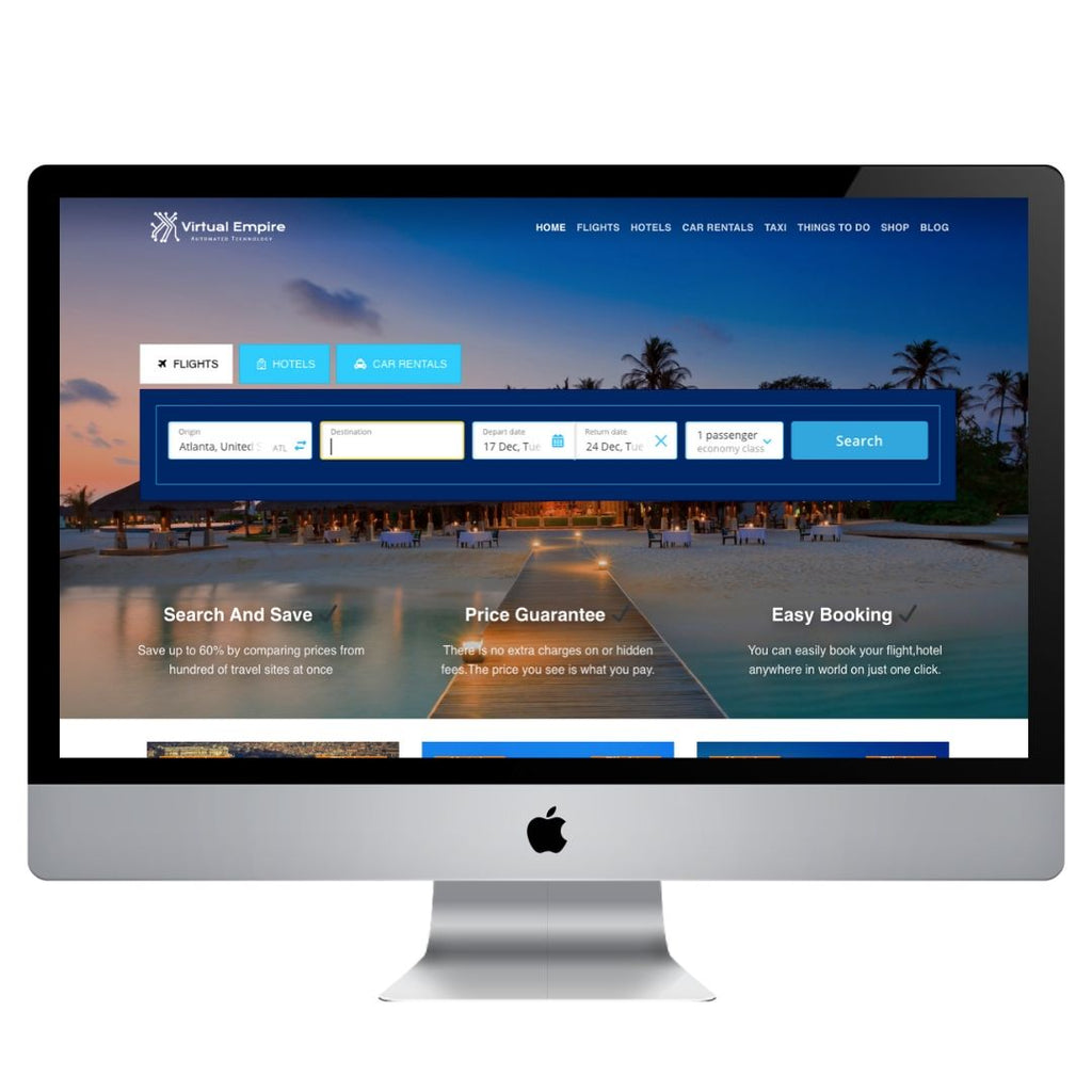 Automatic Travel Website