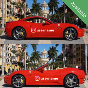 Ferrari California - West Palm Beach