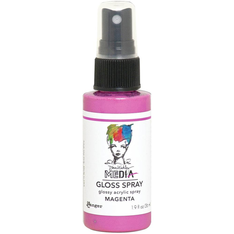 Dina Wakley - Gloss Spray - Magenta