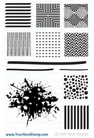 Cool Backgrounds Stamp Set