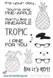 Punny Pineapples Stamp Set