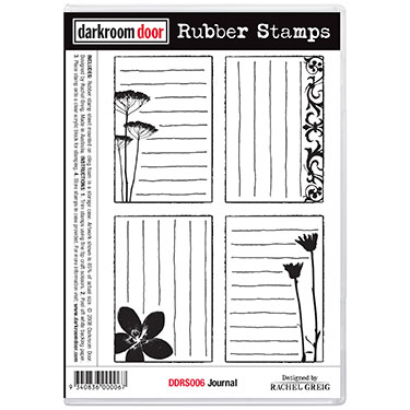Journal Rubber Stamp Set