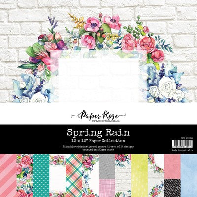 Paper Rose - Paper Collection - Spring Rain