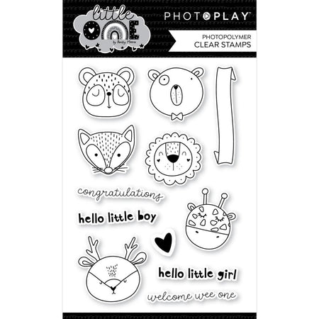 PhotoPlay - Little One - Animals Stamp & Die Combo