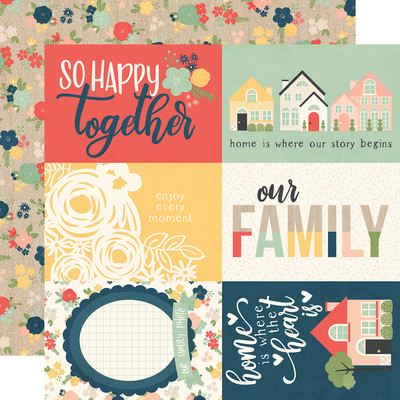 So Happy Together - 4x6 Elements Cardstock