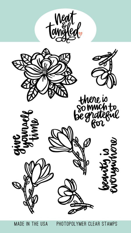 Neat & Tangled - Magnolia Stamp Set