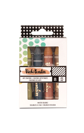 Vicki Boutin Art Crayons Set 3 - Neutral
