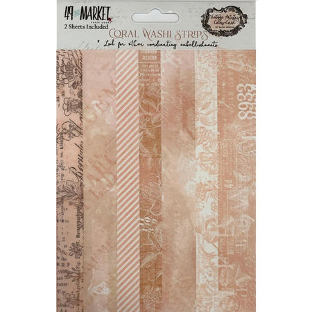49 and Market - Vintage Artistry - Coral Washi