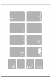 Project Life Embelishment Overlays