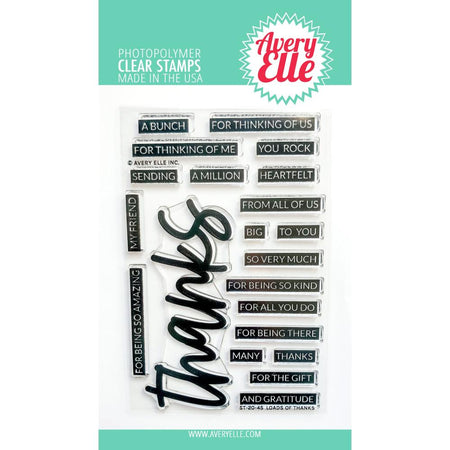 Avery Elle - Loads of Thanks Stamp Set