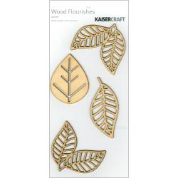 Wood Flourishes - Leaves