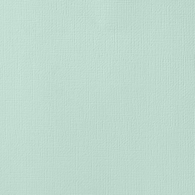 American Crafts - Spearmint Textured Cardstock