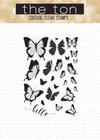 The Ton - Beautiful Butterflies 2 Stamp & Die Combo