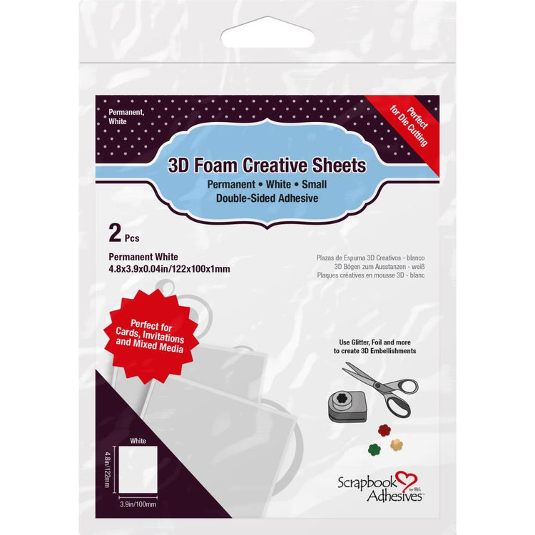 Scrapbook Adhesive - 3D Foam Creative Sheets