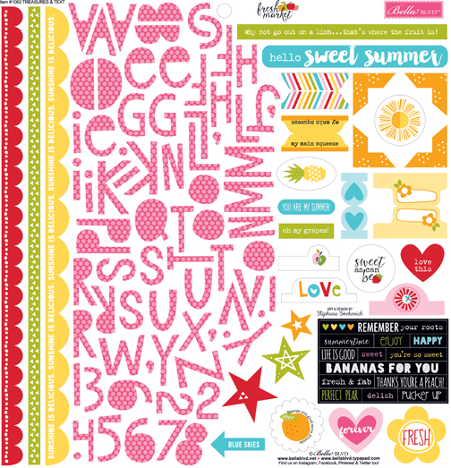 Fresh Market Sticker Sheet