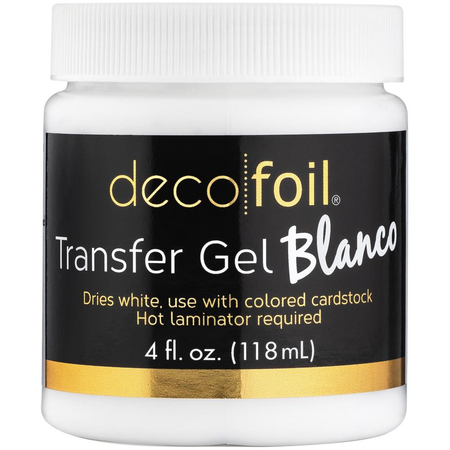 Deco Foil - Transfer Gel Blanco