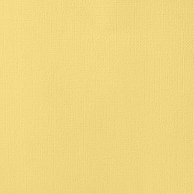 American Crafts - Banana Textured Cardstock
