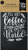 Coffee & Friends Traveler's Notebook Insert - Blank